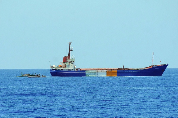 Flickr / IsraelMFA. Seventh flotilla ship attempts to break the maritime closure of the Gaza Strip
