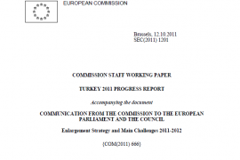 2011 EU official Progress Report on Turkey