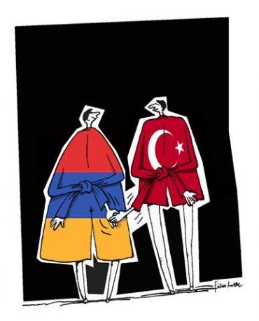 Drawing by Firuz Kutal