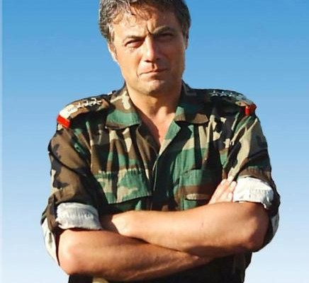 Manaf Tlass (born 1964; sometimes also transliterated as Manaf Tlas) is a former Brigadier General of the Syrian Republican Guard and member of Bashar al-Assad's inner circle.[2][3][4] He also became a member of the Central Committee of the Baath Party around 2000.