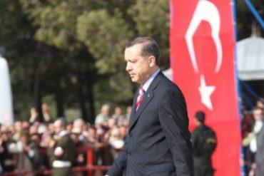 Turkey's leading man is known for his emotional tirades. Recep Tayyip Erdoğan (Erdoğan image via Shutterstock)