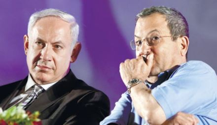 Netanyahu and Barak